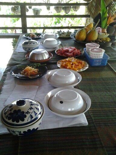 Lunch in thai village