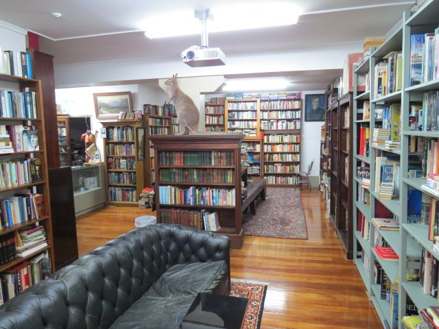 Dead Souls Second-hand Books, is located at 401/B Princes Street, Dunedin