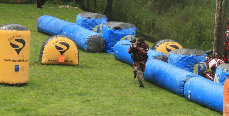Paintball spielen in Lippstadt Raum Paderborn in NRW #Waffe #Krieg #Pistole