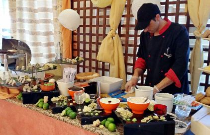 Symposium Restaurant - sushi section