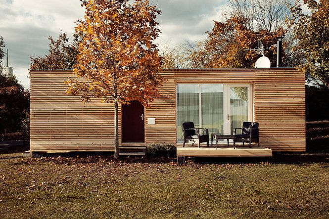 Freedomky: A Czech architectural studio's energy-efficient prefab home