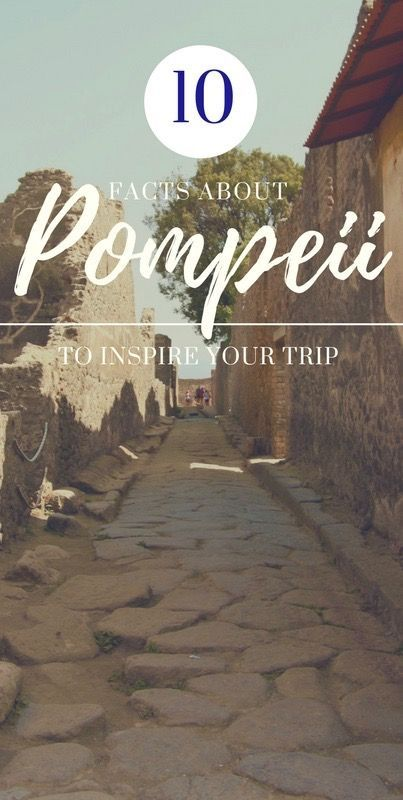 Pompeii is the most breath taking site in Italy. Here are 10 facts about Pompeii to inspire your trip. View photos, travel tips, and more at daniellefarideh.com