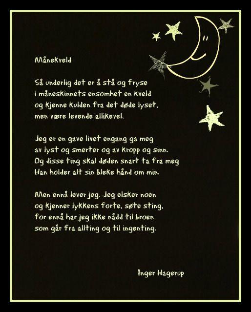 I Hagerup dikt