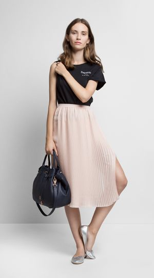 Lisa Top, Clara Skirt, Sissone Shopping Bag and Cendrillon Ballerina by #Repetto. SS2016 Collection.