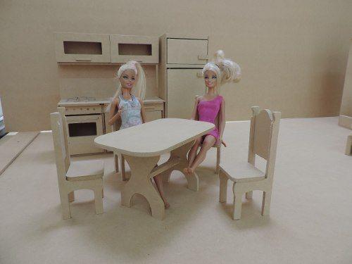 17 mejores im genes sobre casa de la barbie en pinterest for Muebles para barbie