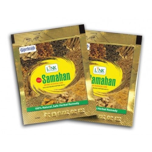 100 x SAMAHAN Ayurveda Ayurvedic Herbal Tea Natural Drink for Cough & Cold, 400g #SiddalepaSAMAHAN