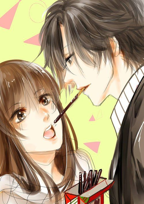 รูปภาพ anime, love, and couple