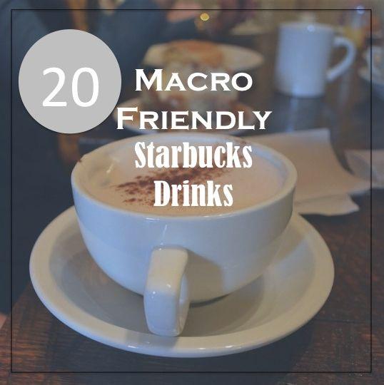 starbucks nutrition for macros