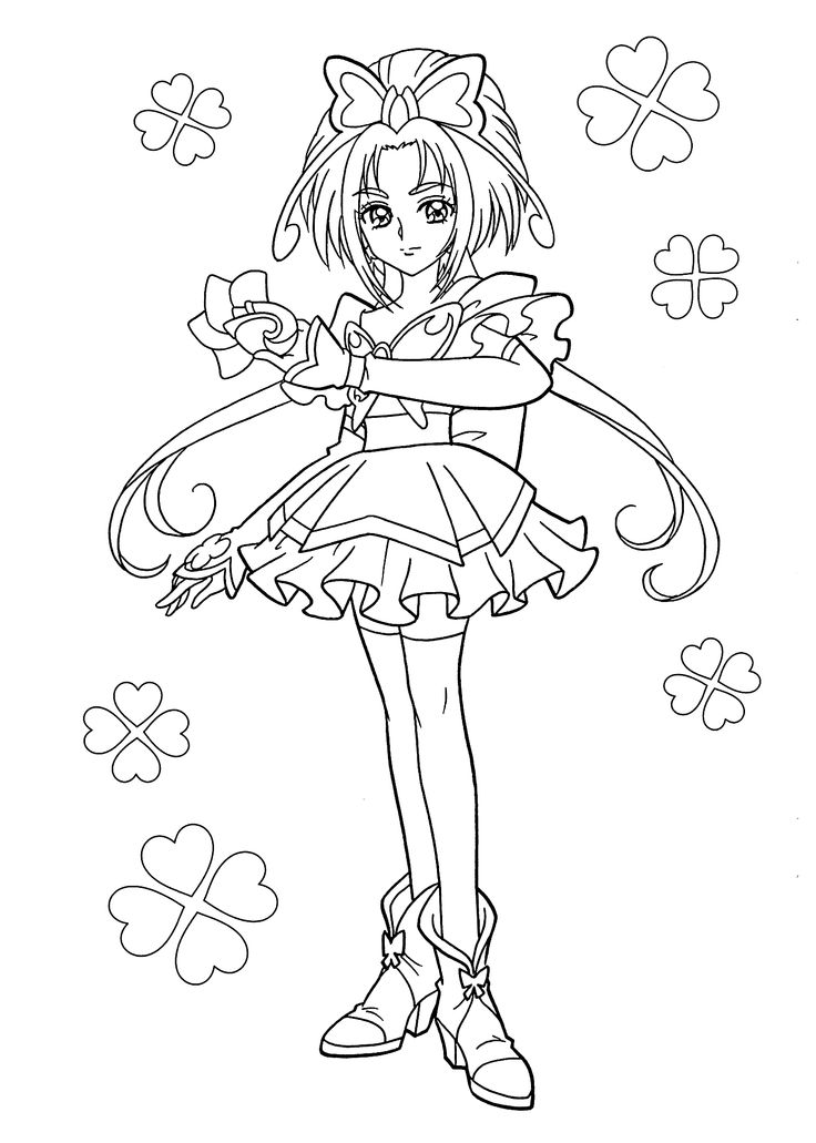 Glitter force characters coloring pages ~ Glitter Force Characters Coloring Pages Coloring Pages