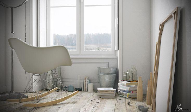Making Of 'Rear Window' By Alexandre Jarek. Click image for full tutorial