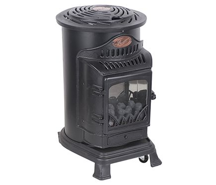 Estufa de gas radiante fireside provence leroy merlin for Bombola gas 5 kg leroy merlin