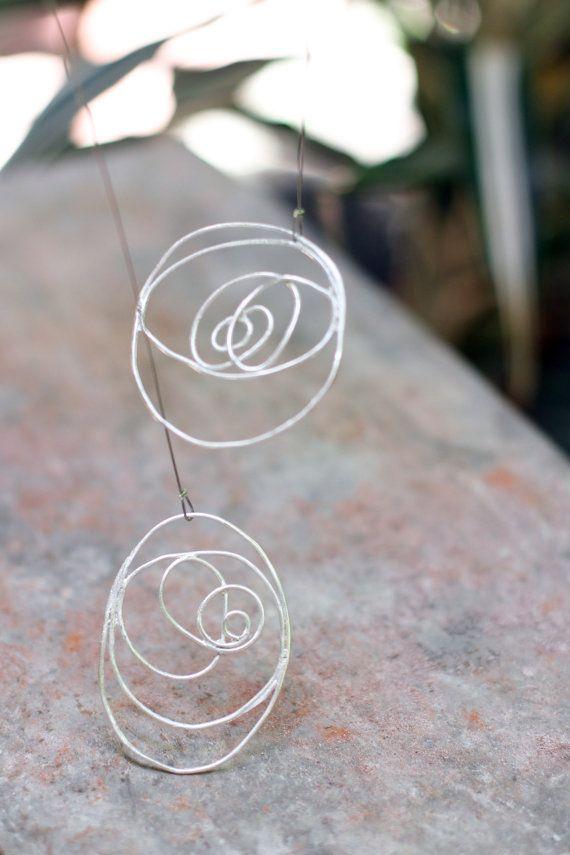 Designe Necklace. Adjustable Necklace. Modern by Kairajewelry