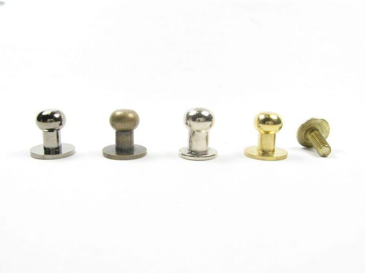 Knopiki, wysokość 9mm, średnica główki 6mm