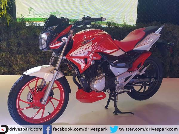 Hero Xtreme 200 S Makes Surprise Debut At Auto Expo 2016   #AutoExpo2016 #HeroMotoCorp