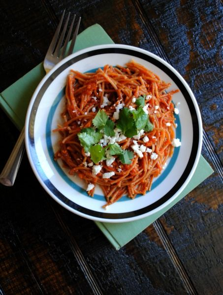 Sopa Seca de Fideo Growing up fideo was a weekly meal in our home.  A celebrated pantry staple that works wonders for raising a family on a tight budget. A box of fideo ran for as little as 17 cents a box. Funny today they still run about the same price, but now you can... Read More »