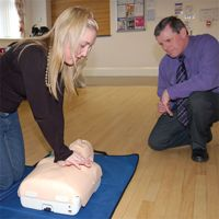 First Aid Awareness - CPR & Defibrillator Training - 1/2 Day Course