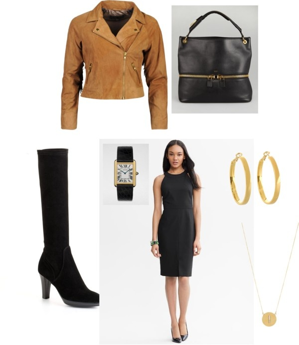 """Black and Tan"" by victoriasmith-2 on Polyvore"