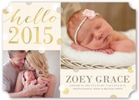 First Christmas Birth Announcements & Baby Birth Announcement Cards | Shutterfly