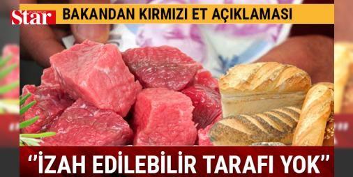 Bakan Çelik'ten ekmek ve kırmızı ete ilişkin açıklama: Gıda, Tarım ve Hayvancılık Bakanı Faruk Çelik, ekmekteki fiyat farklılıklarının önüne geçmek için yürütülen çalışmalara değindi. Ekmek fiyatlarının halihazırda 81 ildeki komisyon kararı ve valilik onayıyla belirlendiğini hatırlatan Çelik, bu nedenle bazı fiyat farklılıklarıyla karşı karşıya kalındığını söyledi.    Gıda ve Tarımsal Ürün Piyasaları İzleme ve Değerlendirme Komitesinde (Gıda Komitesi) bu konuyu tartıştıklarını belirten…