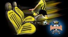 sarung jok edisi bola | BENGKEL JOK MOBIL KITA