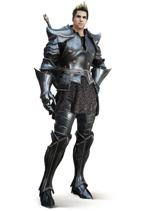 Black Desert Warrior Karakteri