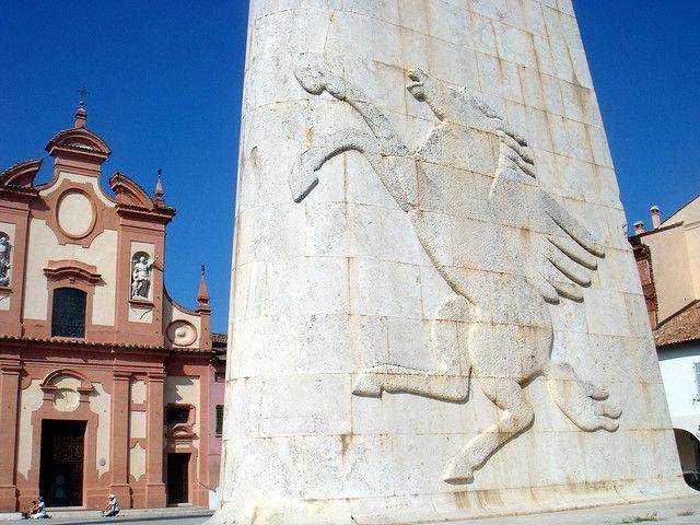 Lugo di Romagna (Chiesa del Suffragio e Monumento a Baracca) | Flickr - Photo Sharing!