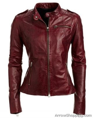 Arrow womens leather jacket – 0709701