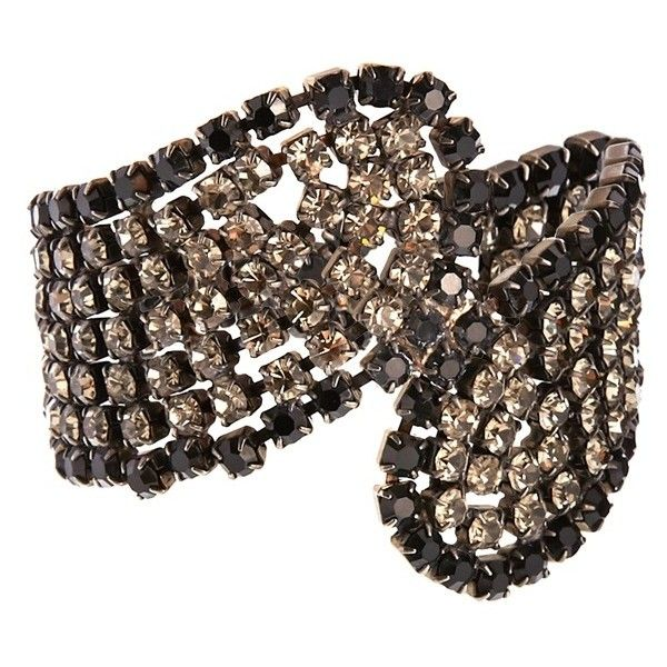 Swarovski Crystal Jewel Embellished Design Bracelet