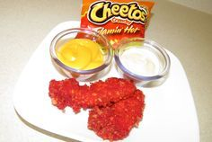 Flamin Hot Cheetos Fried Chicken Recipe