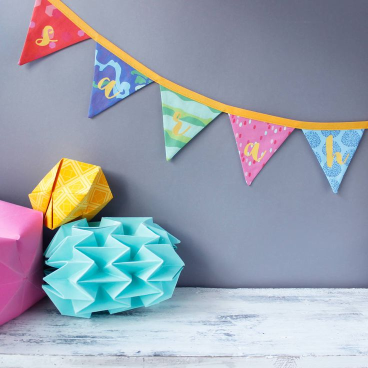 Are you interested in our personalised bunting? With our bunting you need look no further.