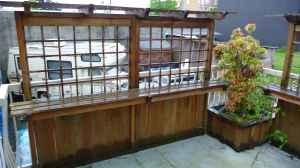 Back deck screen: Decks Screens, Back Decks