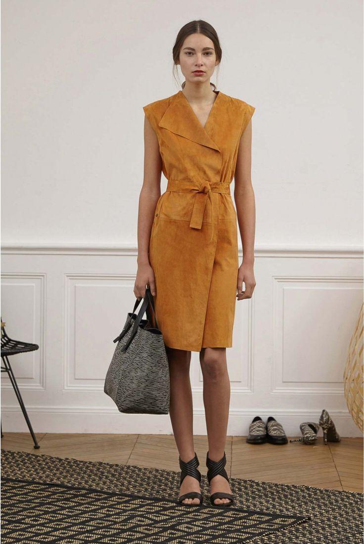 Dress orange brulée, alizee | gerard darel