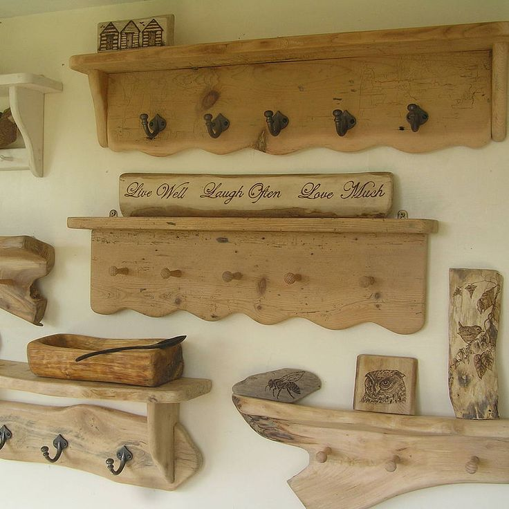 bespoke handmade shelving and racks by seagirl and magpie | notonthehighstreet.com