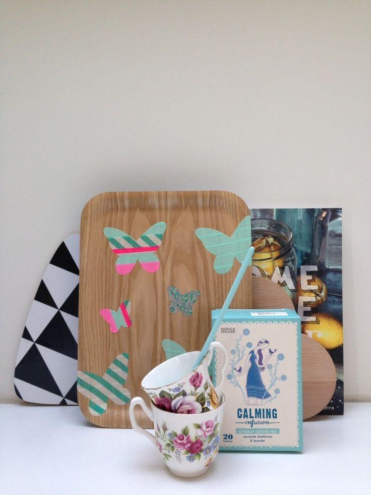 Bedien je gasten in stijl met een DIY dienblad!