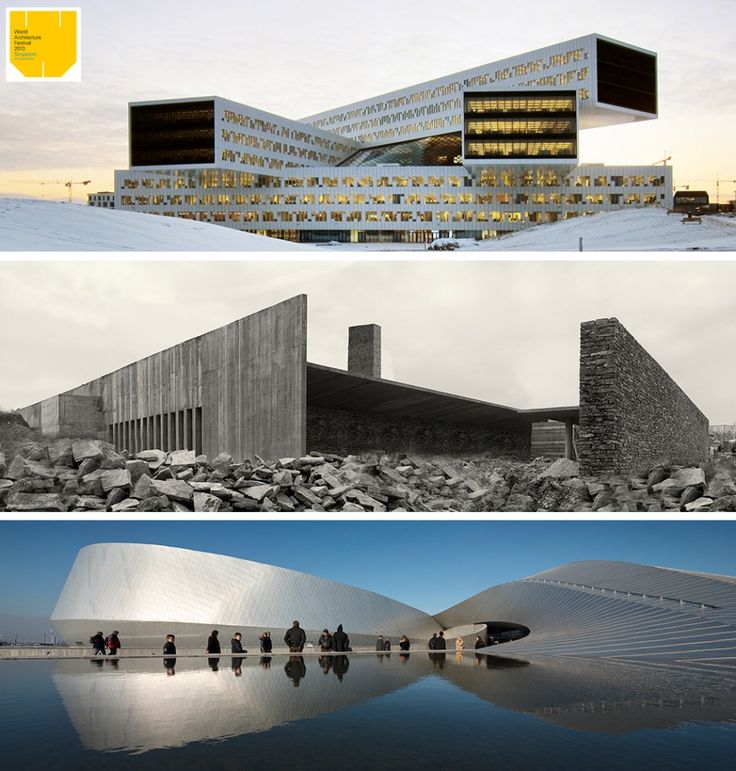 Winners of the World Architecture Festival 2013