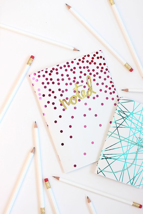 20 Creative DIY Ways To Decorate Your Notebooks