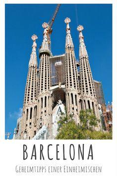 Barcelona, Spanien: Geheimtipps einer Einheimischen - lies mehr dazu auf meinem Reiseblog! #sagradafamilia #reiseblog #reiseblogger