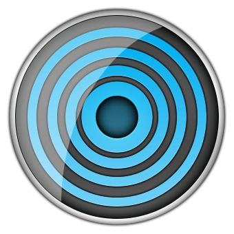 steering pad  kondrian, a game for the iOS platform (https://itunes.apple.com/au/app/kondrian/id589223572?mt=8)