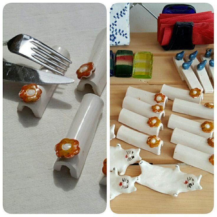 Sofralara Baykuş Art dokunuşları#porte-fourchette cuillère #cutlery holder
