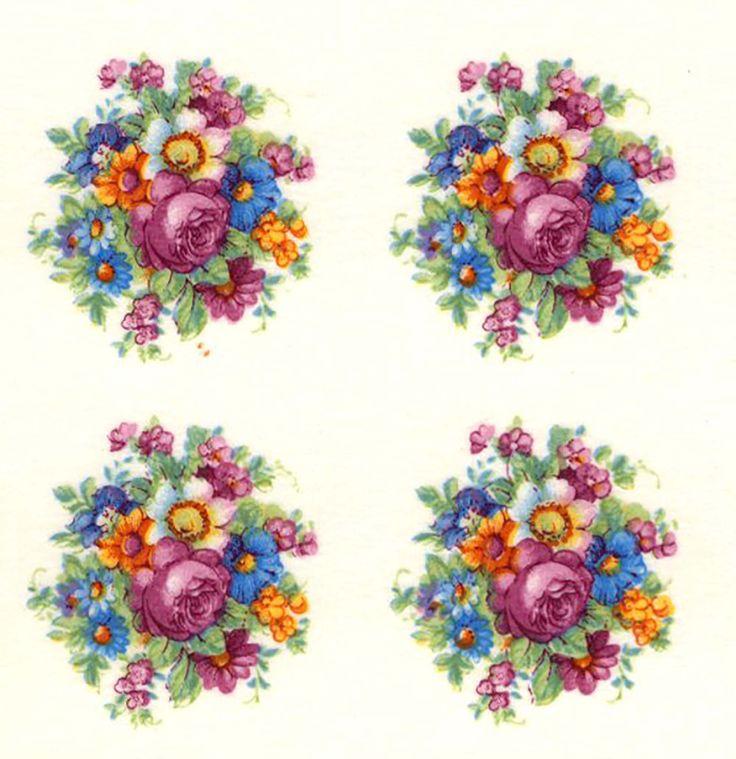 9813 Victorian Pompadour Rose Collection