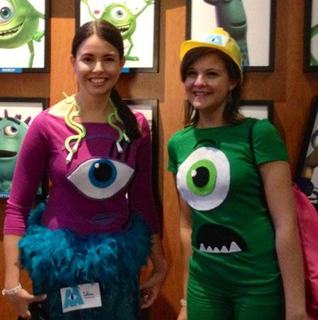 """Mike & Celia from """"Monsters, Inc."""""""