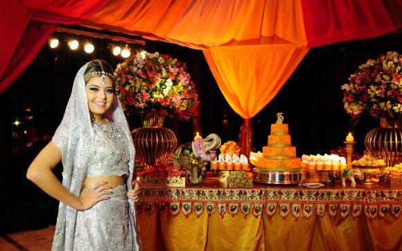 Veja todos os detalhes da luxuosa festa indiana da Bianca Kosaki - 15 anos - CAPRICHO