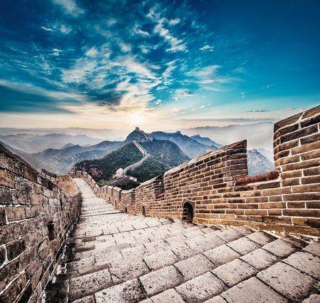 Les 25 plus beaux escaliers de la planète, La Grande Muraille, Chine