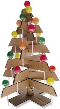 Resultado de imagen de adornos navideños reciclados