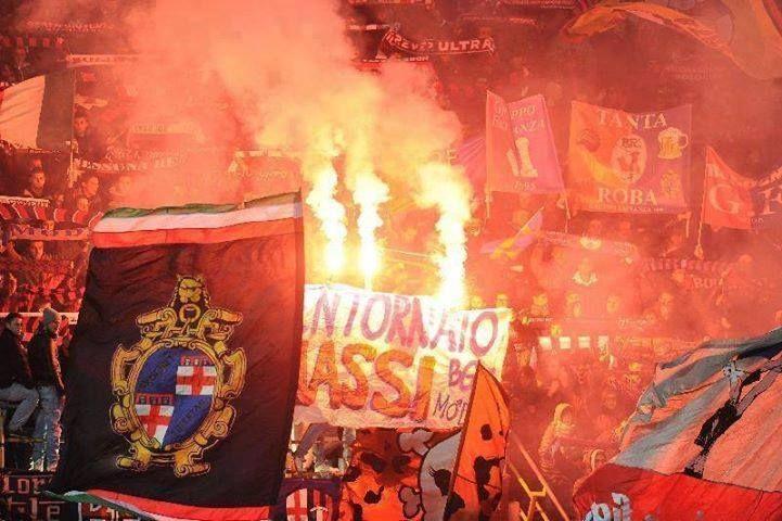 Una cartolina dall'Emilia; Bologna F.C. vs Inter #ultras