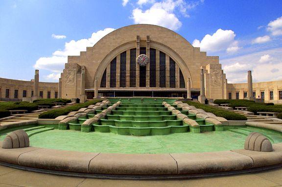 Union Terminal Cincinnati: Discover Ohio, Union Terminator, Beautiful Cincinnati, Beautiful Ohio, Cincinnati Union, Terminator Cincinnati, Deco Architecture, Cin Cities, Cincinnati Com