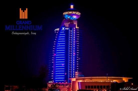 Grand Millenium Hotel Sulaimani, Iraq - avg. WiFi client satisfaction rank 4/10. Avg. download 3.68 Mbps, avg. upload 2.32 Mbps. rottenwifi.com