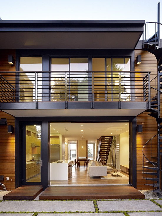 Hill Street Residence - modern - exterior - san francisco - John Maniscalco Architecture