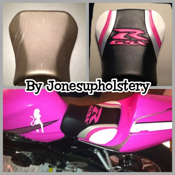 17 best images about reupholstered motorcycle seats on pinterest upholstery love and gucci. Black Bedroom Furniture Sets. Home Design Ideas