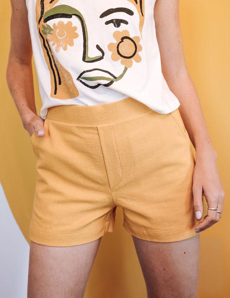 Fancy Shorts – Gold Dust